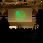 28C3 - Logo at Saal 1