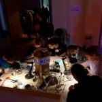 30C3 - BlinkenArea soldering