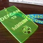 DEF CON 13 - badge