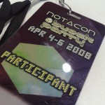 NOTACON 5 - badge