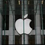 Floating Apple logo