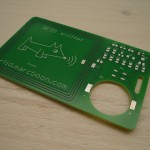The bare RFID Reader pcb