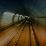 Blurred tunnel
